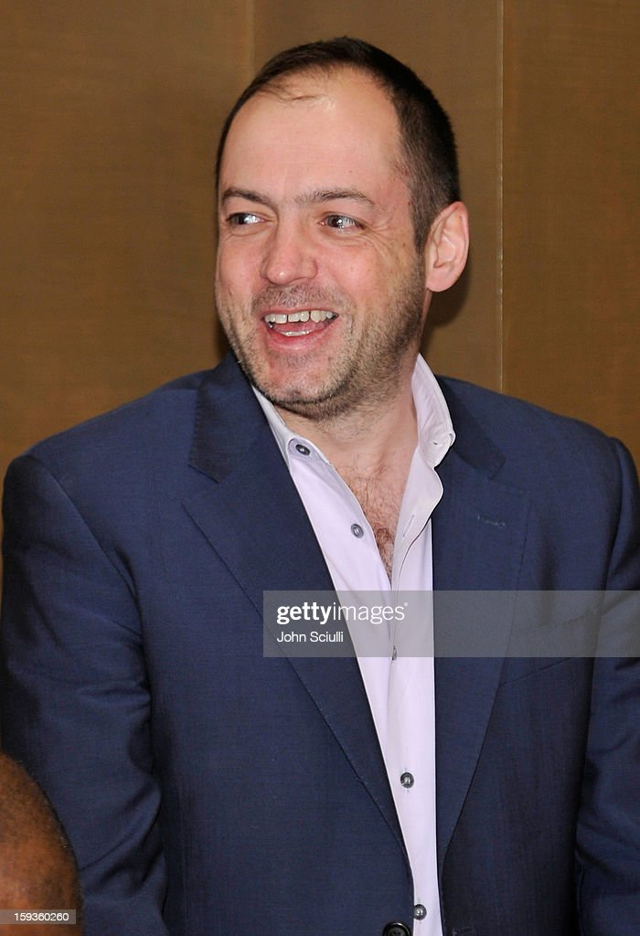 Gareth Neame attends a Golden Globe lunch hosted by BritWeek chairman Bob Peirce honoring Julian Fellowes, Gareth Neame and Michelle Dockery at Four Seasons Hotel Los Angeles at Beverly Hills on January 12, 2013 in Beverly Hills, California.