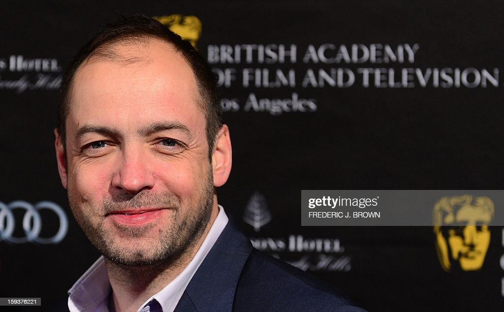 Gareth Neame poses on arrival for the British Academy of Film and Television Arts (BAFTA) Los Angeles Awards Season Tea Party on January 12, 2013 in Beverly Hills, California. AFP PHOTO / Frederic J. BROWN