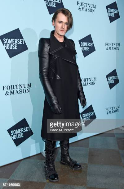Gareth Pugh attends the opening party of Skate at Somerset House with Fortnum Mason on November 14 2017 in London England London's favourite festive...