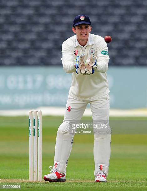 Gareth Roderick Captain of Gloucestershire during Day Two of the Specsavers County Championship Division Two match between Gloucestershire and...