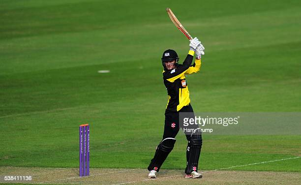 Gareth Roderick of Gloucestershire bats during the Royal London One Day Cup match between Glamorgan and Gloucestershire at the SWALEC Stadium on June...
