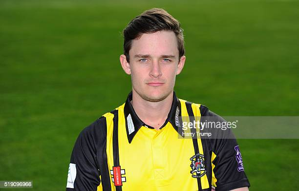 Gareth Roderick of Gloucestershire during the Gloucestershire CCC Photocall at the County Ground on April 4 2016 in Bristol England