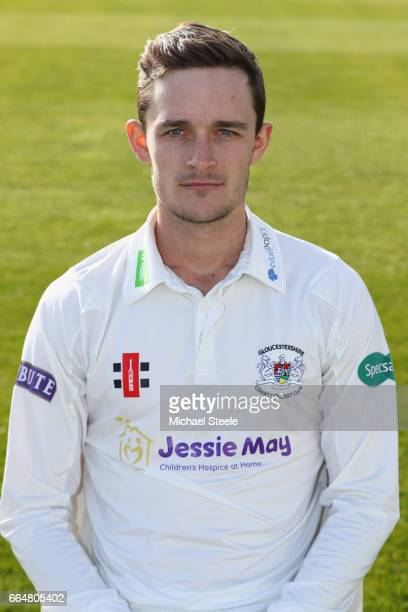Gareth Roderick of Gloucestershire in the Specsavers County Championship kit during the Gloucestershire County Cricket photocall at The Brightside...