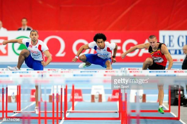 Garfield DARIEN / Samuel COCO VILOIN 60m Haies Championnats d'Europe en salle BercyParis