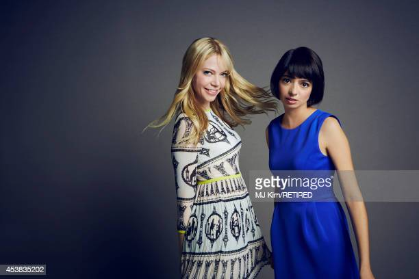 Garfunkle Oates pose for a portrait at the Getty Images Portrait Studio powered by Samsung Galaxy at ComicCon International 2014 on July 24 2014 in...