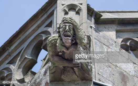 Gargoyle on church : Stock Photo