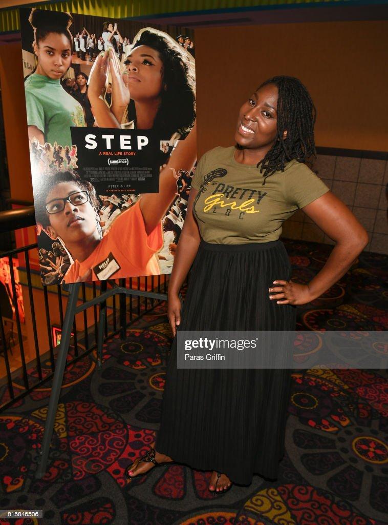 Gari McIntyre at 'Step' documentary Atlanta Screening at Regal Cinemas Atlantic Station Stadium 16 on July 16, 2017 in Atlanta, Georgia.