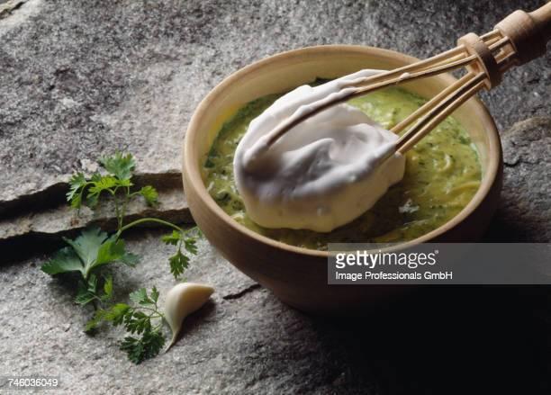Garlic and parsley sauce
