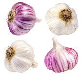 garlic isolated on white backgroundgarlic isolated on white backgroundgarlic isolated on white backgroundgarlic isolated on white background
