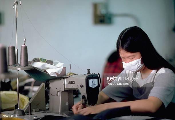 Garment Worker in Hong Kong