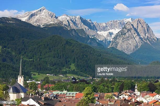 Garmisch-Partenkirchen and Zugspitze Range