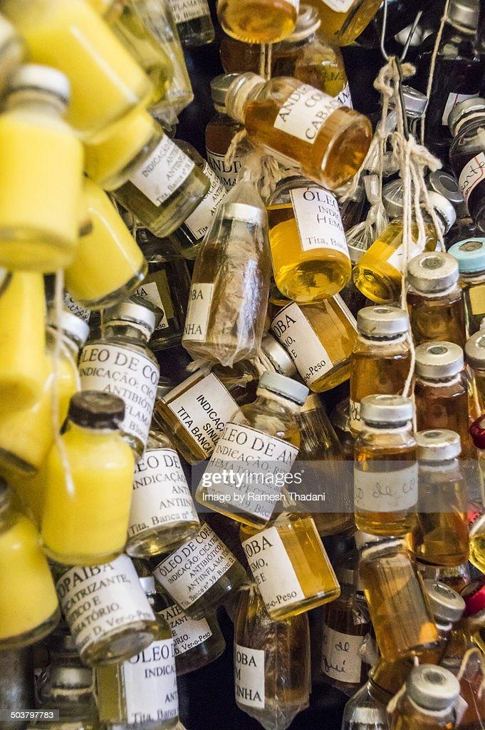 'Garrafada'- bottled cures for any problem