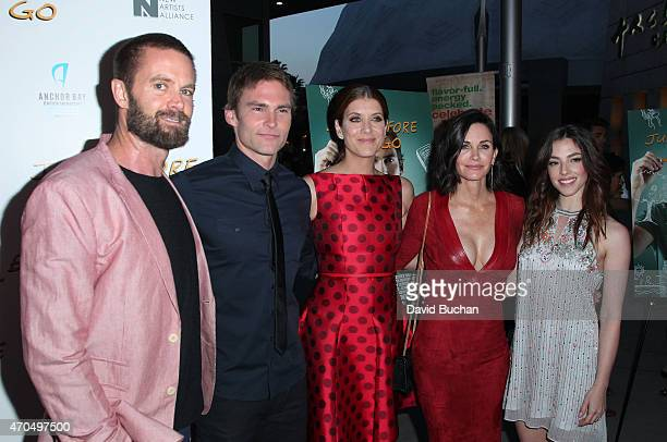 Garret Dillahunt Seann William Scott Kate Walsh Courteney Cox and Olivia Thirlby attend the screening of Anchor Bay Entertainment's 'Just Before I...