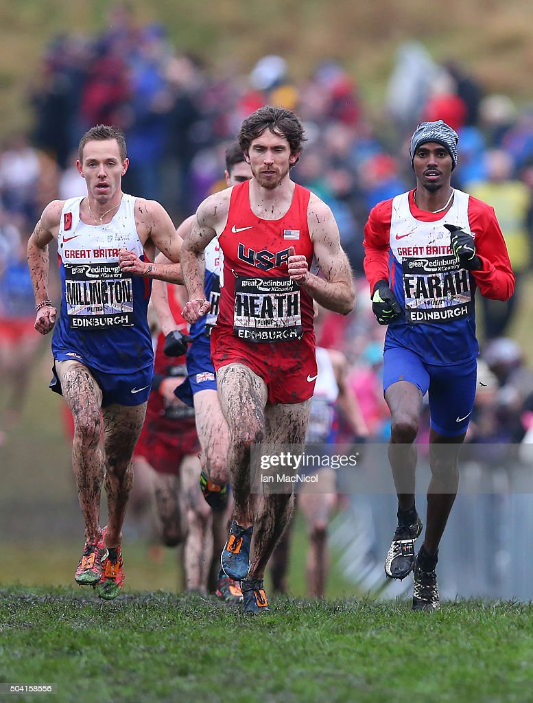 Edinburgh (IN) United States  City pictures : Garret Heath of the United States competes in the Men's 8km race ...