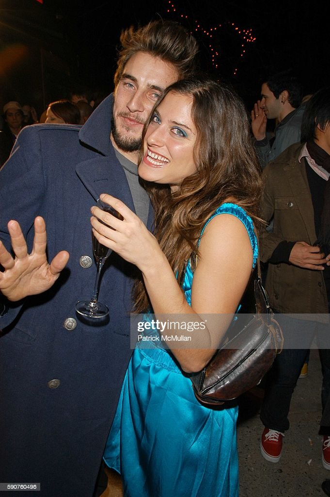 Garreth Moody and Celina Stang attend Tsubi NYC Opening and AfterParty at Tsubi and Velvet Lounge on March 29 2005 in New York City