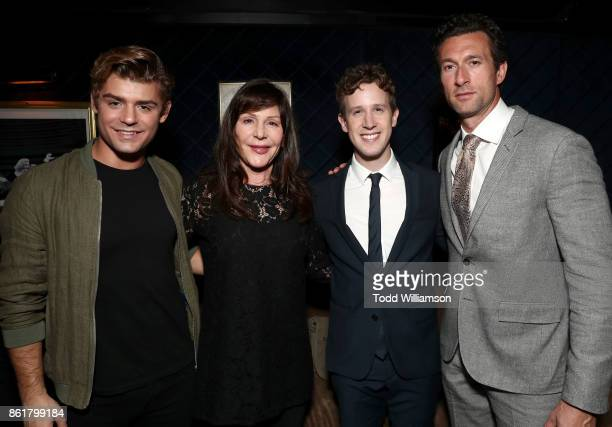 Garrett Clayton Lauren Shuler Donner Mark Wyse and Aaron Lazar attend National Breast Cancer Coalition Fund's 17th Annual Les Girls Cabaret at Avalon...