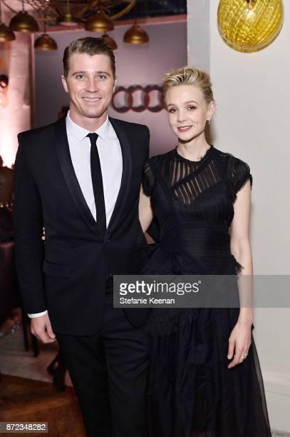 Garrett Hedlund and Carey Mulligan attend Audi Hosts Opening Night Dinner For AFI Netflix 'Mudbound' at Hollywood Roosevelt Hotel on November 9 2017...