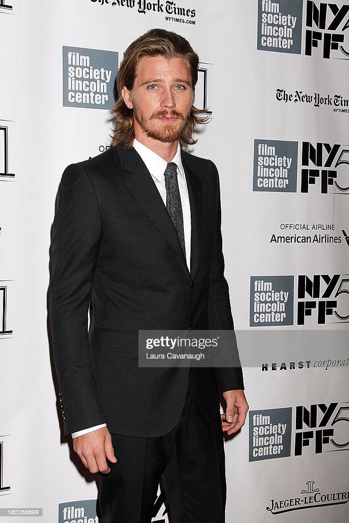 <a gi-track='captionPersonalityLinkClicked' href=/galleries/search?phrase=Garrett+Hedlund&family=editorial&specificpeople=2290407 ng-click='$event.stopPropagation()'>Garrett Hedlund</a> attends the 'Inside Lleywn Davis' permiere during the 51st New York Film Festival at Alice Tully Hall at Lincoln Center on September 28, 2013 in New York City.