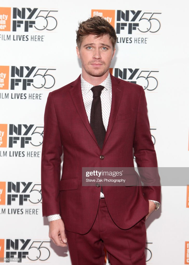Garrett Hedlund attends the 'Mudbound' screening during the 55th New York Film Festival at Alice Tully Hall on October 12, 2017 in New York City.