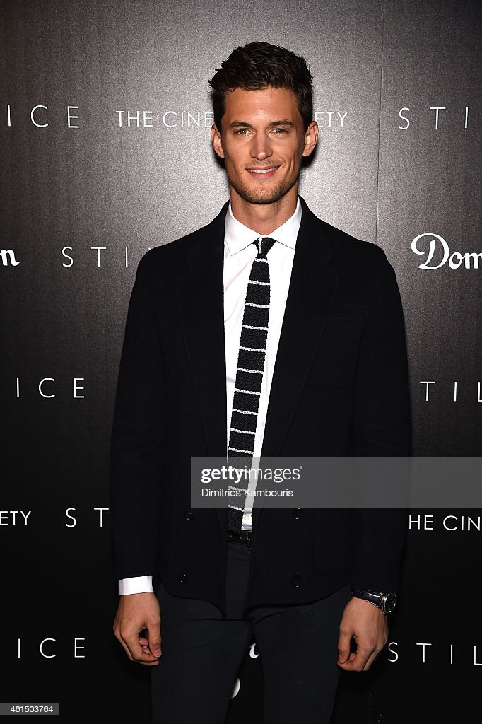 Garrett Neff attends The Cinema Society with Montblanc and Dom Perignon screening of Sony Pictures Classics' 'Still Alice' at Landmark's Sunshine Cinema on January 13, 2015 in New York City.