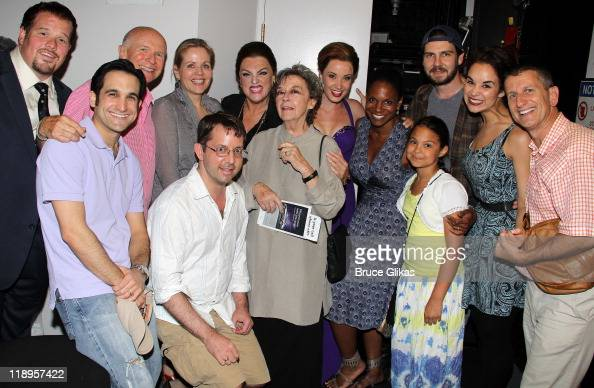 Garrett Sorenson Jeremy Cohen Playwright Terrence McNally Renee Fleming David Loud Tyne Daly Zoe Caldwell Sierra Boggess and Audra McDonald daughter...