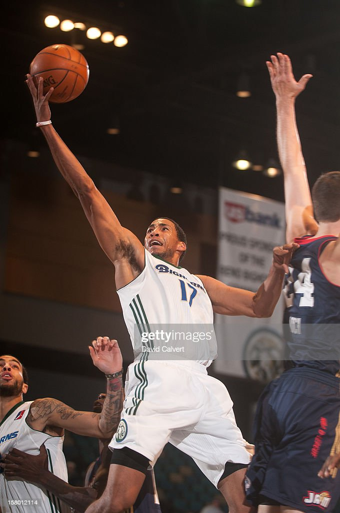 <a gi-track='captionPersonalityLinkClicked' href=/galleries/search?phrase=Garrett+Temple&family=editorial&specificpeople=709398 ng-click='$event.stopPropagation()'>Garrett Temple</a> #17 of the Reno Bighorns shoots a layup against the Bakersfield Jam on December 7, 2012 at the Reno Events Center in Reno, Nev..