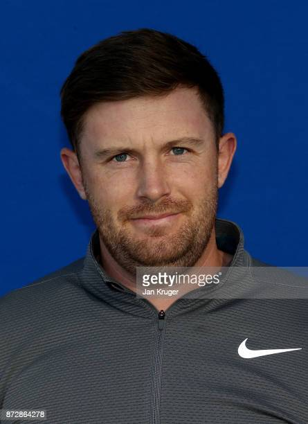 Garrick Porteous of England during the first round of the European Tour Qualifying School Final Stage at Lumine Golf Club on November 11 2017 in...