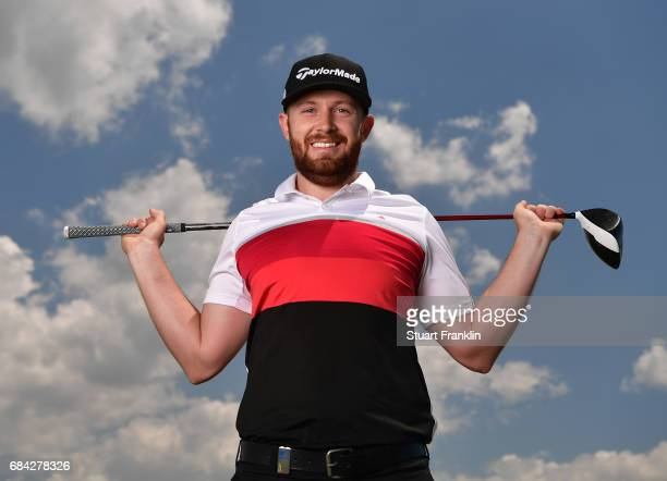 Garrick Porteous of England poses for a picture prior to the start of The Rocco Forte Open at Verdura Golf and Spa Resort on May 17 2017 in Sciacca...