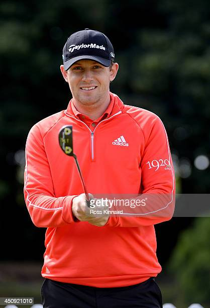 Garrick Porteous of England poses for a portrait during the second round of the Irish Open at the Fota Island Resort on June 20 2014 in Cork Ireland