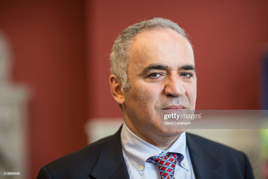<a gi-track='captionPersonalityLinkClicked' href=/galleries/search?phrase=Garry+Kasparov&family=editorial&specificpeople=171112 ng-click='$event.stopPropagation()'>Garry Kasparov</a>, legendary Russian chess player and pro-democracy in Russia campaigner, photographed at the FT Weekend Oxford Literary Festival on April 3, 2016 in Oxford, England.