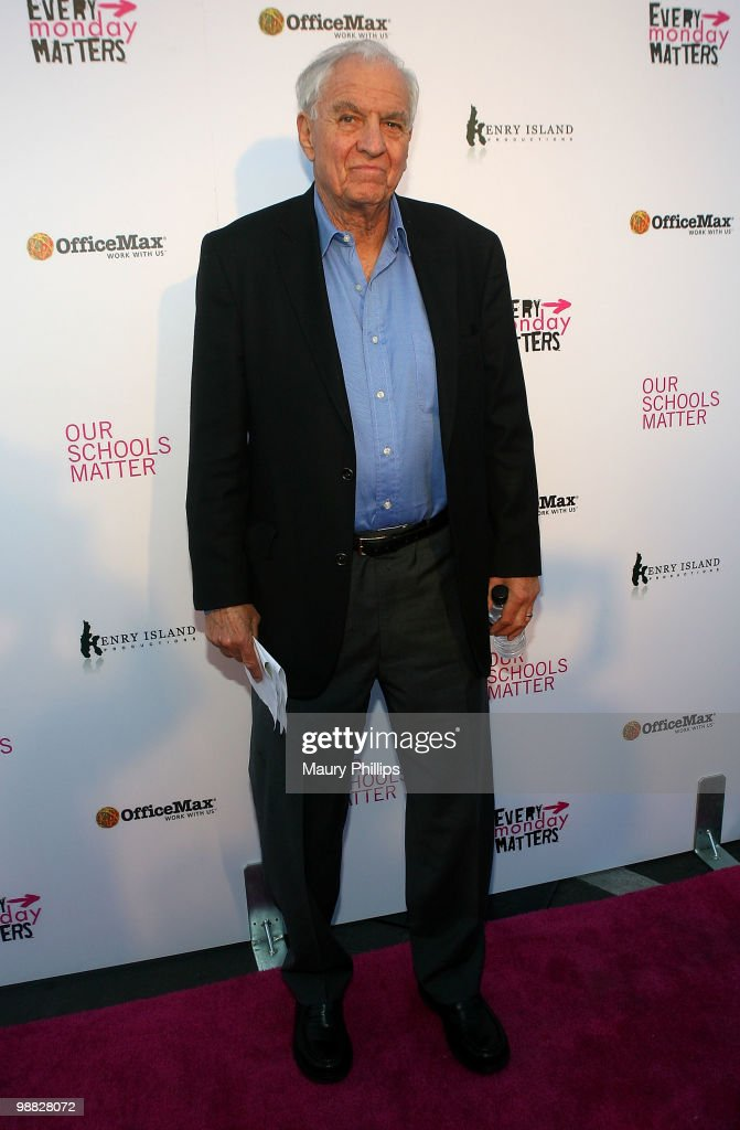 Garry Marshall arrives at the First Annual Party With A Purpose Benefit at Smashbox West Hollywood on May 3, 2010 in West Hollywood, California.