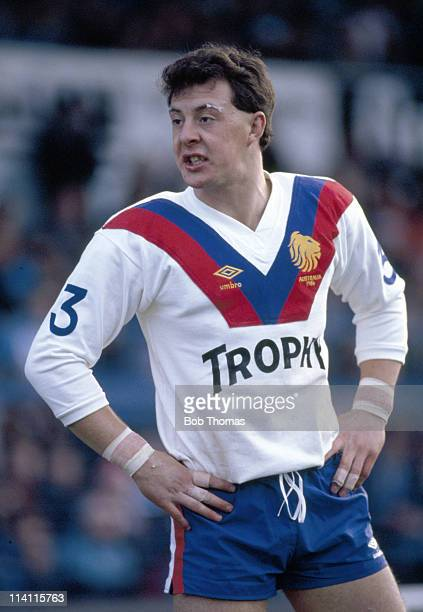Garry Schofield of Great Britain during the Whitbread 2nd rugby league Test match against Australia at Headingley Leeds on 8th November 1986...