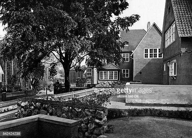 Gartenstadt FrohnauVillen im Landhausstil um 1921