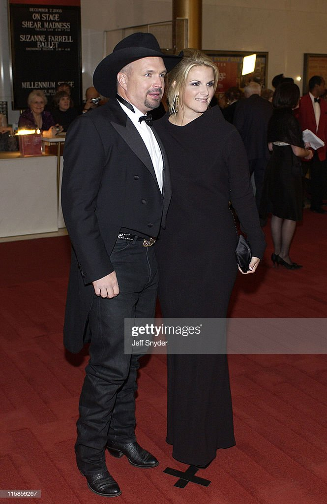 Garth Brooks and Trisha Yearwood during 26th Annual Kennedy Center Honors at John F Kennedy Center for the Performing Arts in Washington, DC, United States.