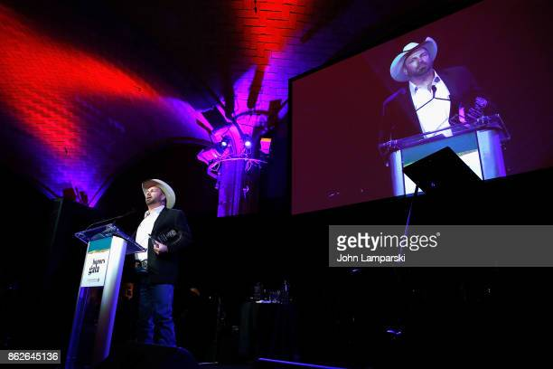 Garth Brooks attends TJ Martell 42nd Annual New York Honors Gala at Guastavino's on October 17 2017 in New York City