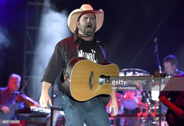 Garth Brooks performs at Auditorium Shores during the 2017 SXSW Conference And Festivals on March 18 2017 in Austin Texas