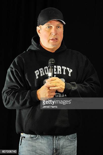 Garth Brooks PreConcert Press Conference at Honda Center on September 16 2016 in Anaheim California