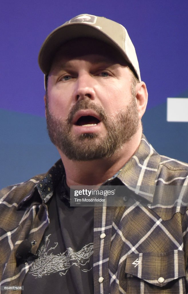 Garth Brooks speaks during the Music Keynote at the Convention Center during the 2017 SXSW Conference And Festivals on March 17, 2017 in Austin, Texas.