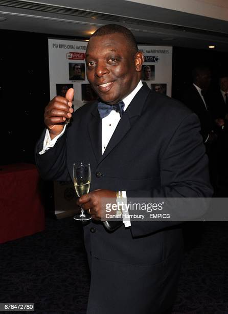 Garth Crooks arrives at the PFA Player of the Year Awards 2010 at the Grosvenor House Hotel London
