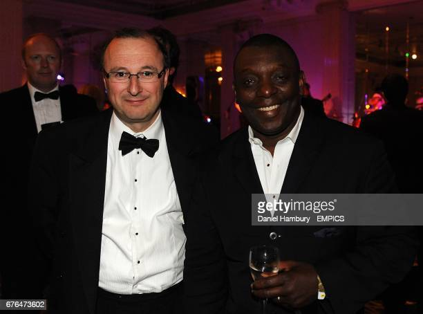 Garth Crooks at the PFA Player of the Year Awards 2010 at the Grosvenor House Hotel London