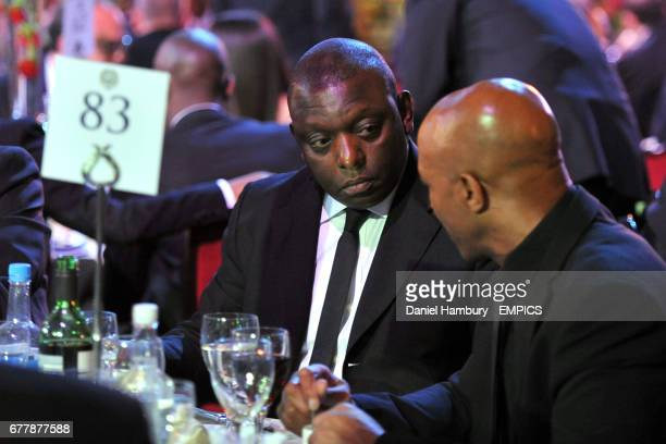 Garth Crooks during the awards ceremony