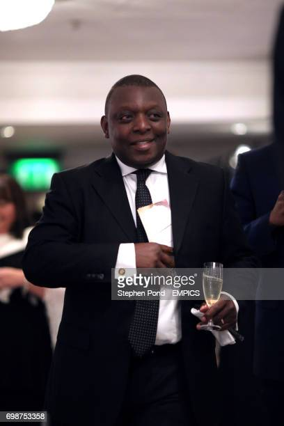 Garth Crooks during the PFA Player of the Year Awards 2015 at the Grosvenor House Hotel London