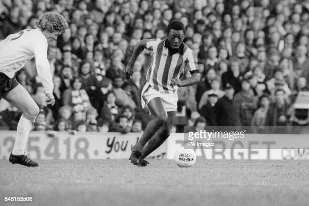 Garth Crooks in action for Stoke City