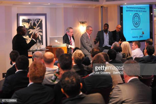 Garth Crooks Lord Peter Snape Clive Thomas Martin Offiah and Matthew Syed discuss the behaviour of professional sportsmen