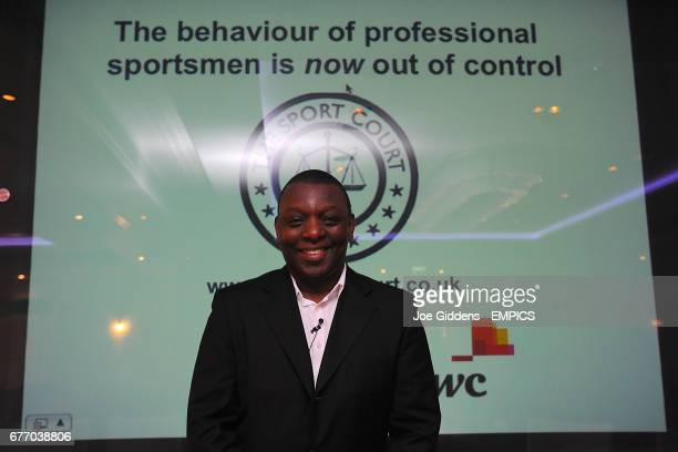 Garth Crooks poses for the camera