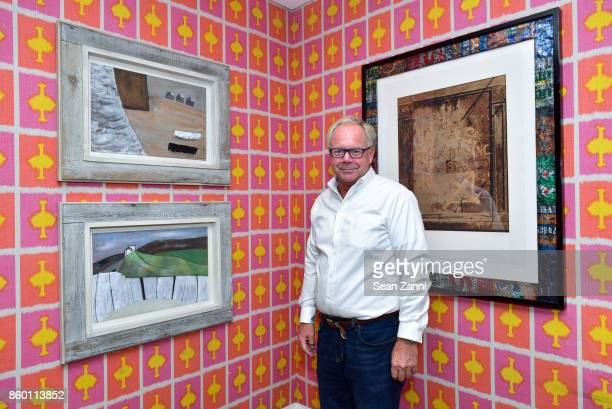 Gary Andreassen attends the launch of The Collector Geneva's Sophie Bonvin Code Collection in Collaboration with artist Bill Claps at Crosby Street...