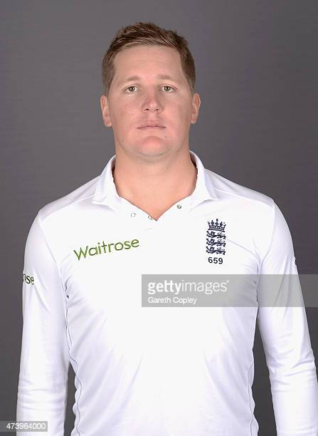 Gary Ballance of England poses for a portrait at Lord's Cricket Ground on May 19 2015 in London England