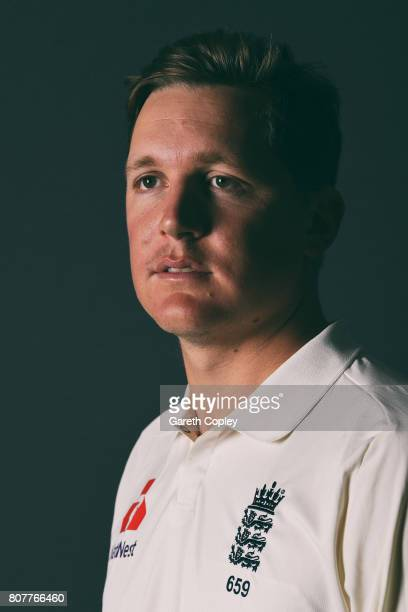 Gary Ballance of England poses for a portrait at Lord's Cricket Ground on July 4 2017 in London England