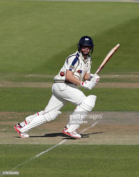 Gary Ballance of Yorkshire in action during day one of the LV County Championship Division One match between Yorkshire and Middlesex at Headingley on...