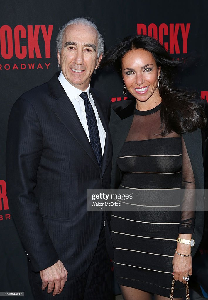 <a gi-track='captionPersonalityLinkClicked' href=/galleries/search?phrase=Gary+Barber&family=editorial&specificpeople=683141 ng-click='$event.stopPropagation()'>Gary Barber</a> (CEO, MGM) and wife Nadine Barber attend the 'Rocky' Broadway Opening Night at Winter Garden Theatre on March 13, 2014 in New York City.
